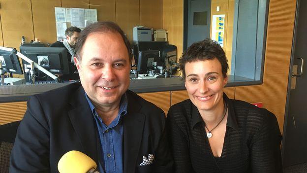 Pour la première fois Eric Vigié rencontre Sandrine Viglino