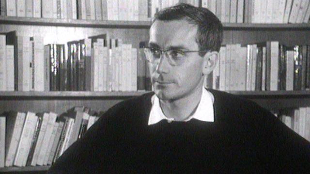 François Maspero, éditeur et libraire, en 1966. [RTS]