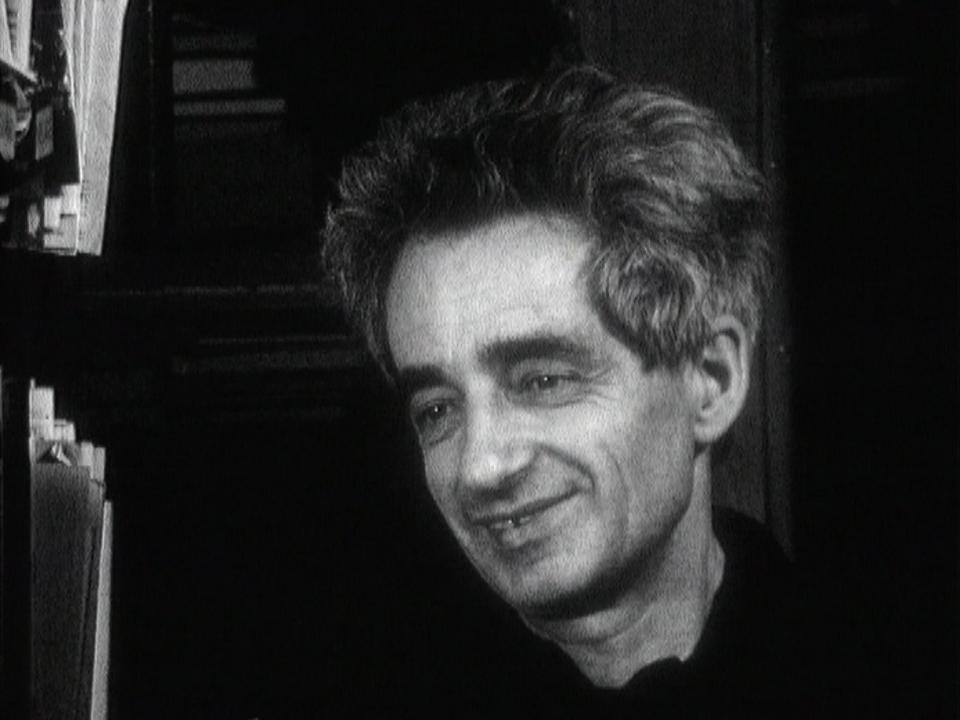 Theo Pinkus, libraire zurichois, 1967. [RTS]