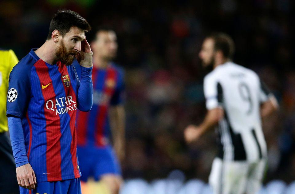 Toute la déception de Lionel Messi. [Manu Fernandez - Keystone]