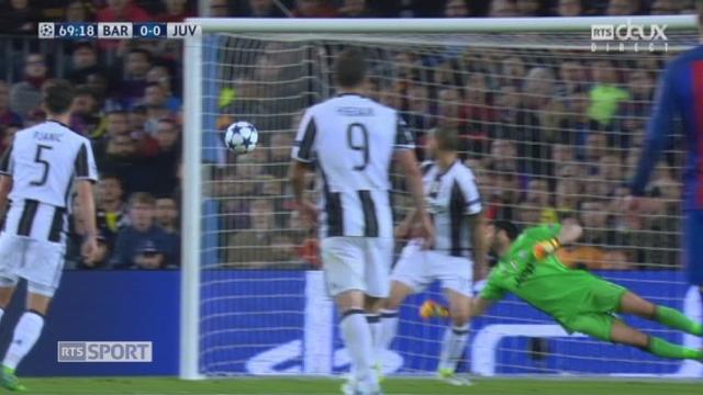 Ligue des champions, 1-4 retour: Barcelone – Juventus, 69e Sergi Roberto à un cheveu d'ouvrir le score [RTS]