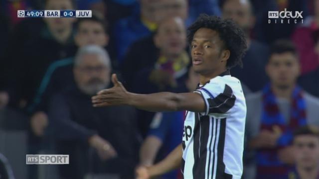 Ligue des champions, 1-4 retour: Barcelone – Juventus, 49e Cuadrado manque de tuer le match [RTS]