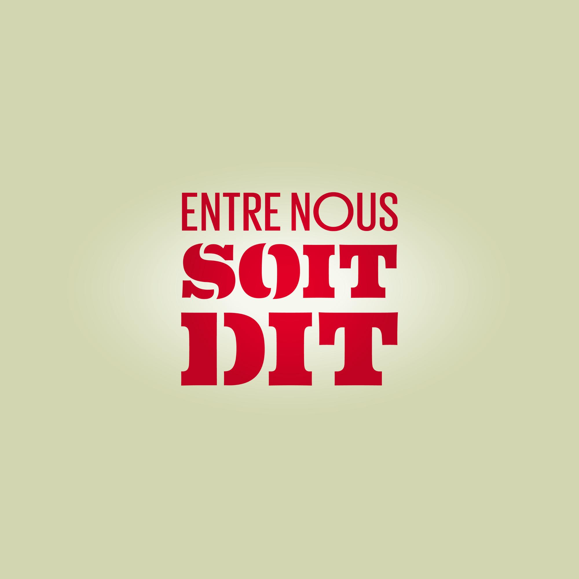 Logo Entre nous soit dit [RTS]