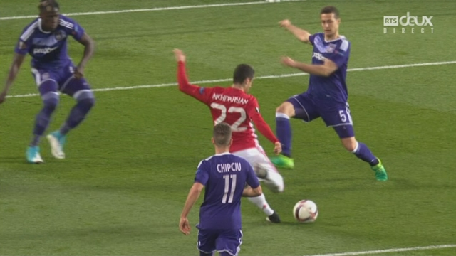 Europa League, 1-4 retour: Man. United - Anderlecht 1-0, 10e Mkhitariyan [RTS]