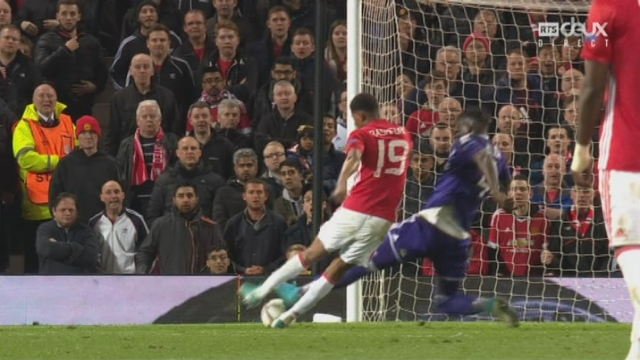 Europa League, 1-4 retour: Man. United - Anderlecht 2-1, 106e Rashford [RTS]