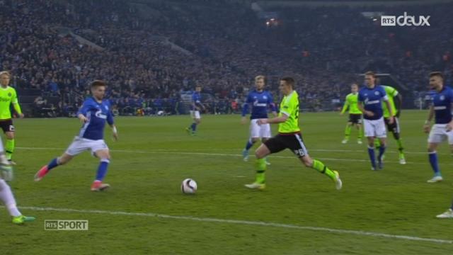 Europa League, 1-4 retour: Schalke 04 - Ajax 3-2, résumé de la rencontre [RTS]