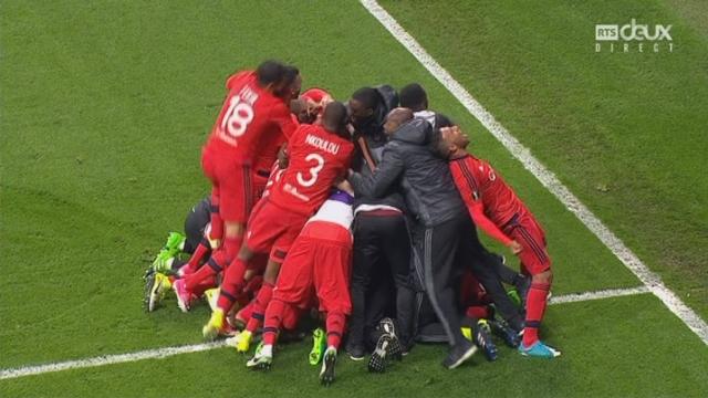 Europa League, 1-4 retour: Besiktas - Lyon 2-1 (6-7 tb), Lyon se qualifie aux tirs au but [RTS]