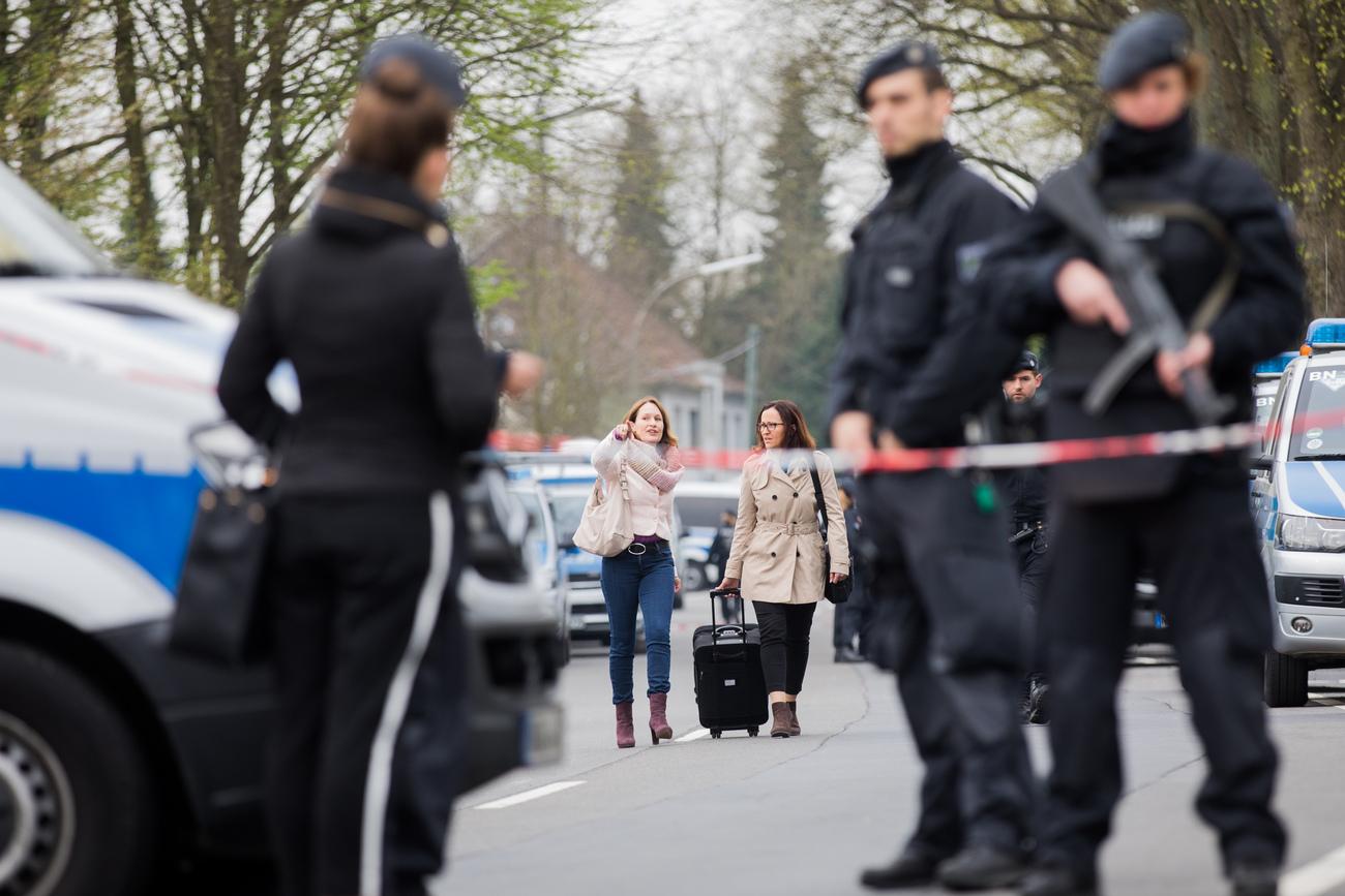 Le suspect arrêté — Dortmund