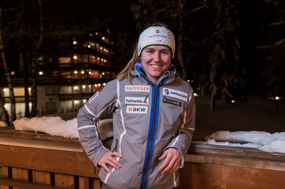 Fabienne Suter met un terme à une belle carrière commencée en 2002. [Alessandro della Valle - Keystone]