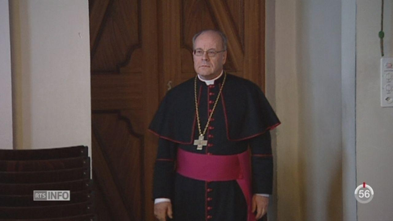 L'évêque de Coire Vitus Huonder démissionne [RTS]