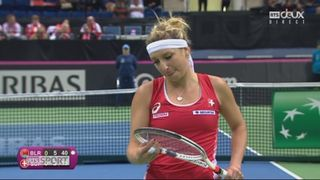 Fed Cup, 1-2, A.Sasnovich (BLR) - T.Bacsinszky (SUI) 6-2 [RTS]
