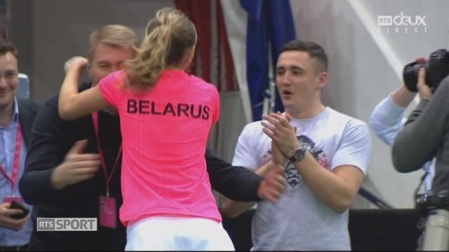 Fed Cup, 1-2, A.Sasnovich (BLR) - T.Bacsinszky (SUI) 6-2 7-6 [RTS]