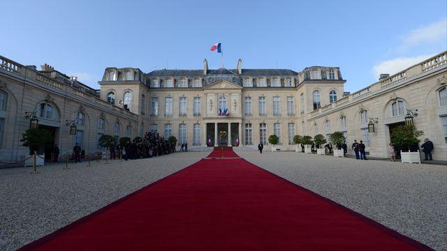 Le Palais de l'Elysée. [ERIC FEFERBERG ]