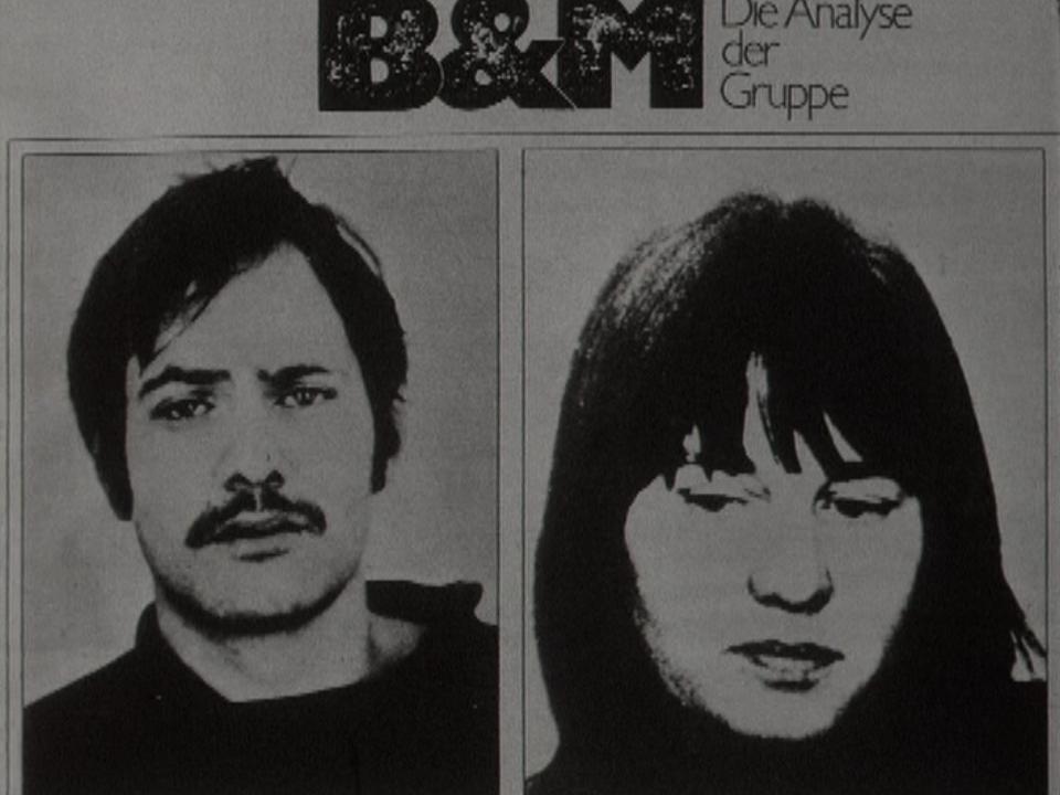 Wanted : Andreas Baader et Ulrike Meinhof de la Fraction armée rouge. [RTS]