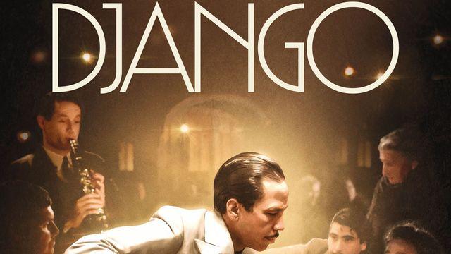 """L'affiche du film """"Django"""" d'Étienne Comar. [Fidélité Productions]"""