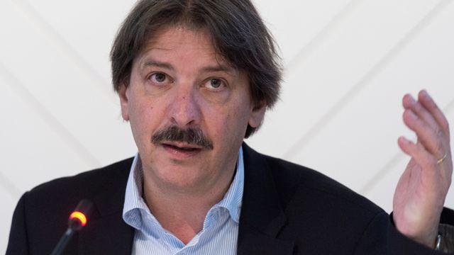 Paul Rechsteiner, président de l'Union syndicale suisse. [Lukas Lehmann - Keystone]