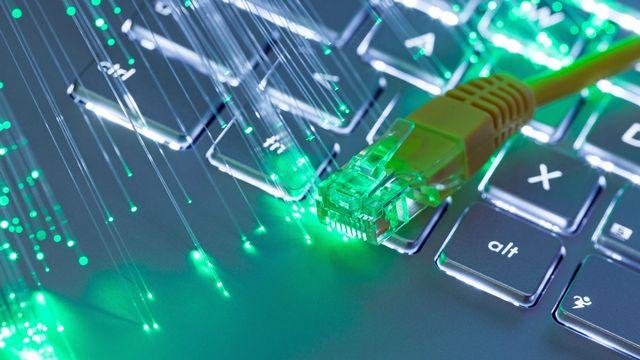 Les débits internet ne cessent d'augmenter grâce au déploiement de la fibre optique. [Silvano Rebai - Fotolia]