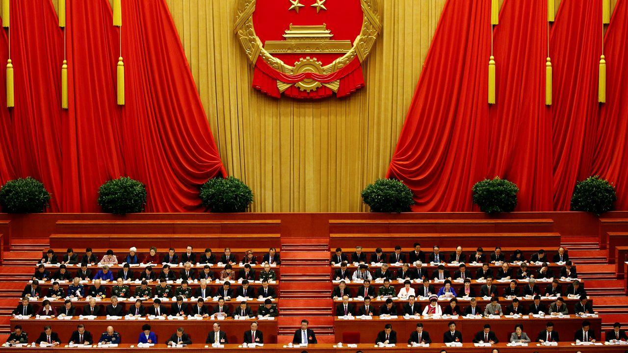 L'Assemblée nationale populaire chinoise réunie le 5 mars 2017. [Damir Sagolj - Reuters]