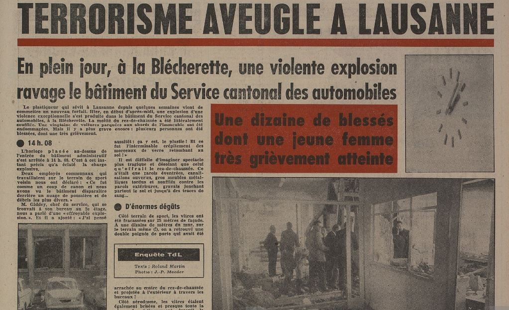 Article de la Tribune de Lausanne du 30 mai 1967