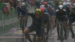 1re étape, Aigle – Champéry: victoire de Michael Albasini (SUI) [RTS]