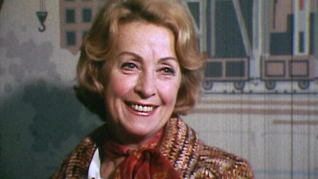 Danielle Darrieux en 1974. [RTS]