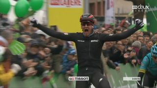 2e étape, Aigle – Bulle, 136,5km : Stefan Küng (SUI) s'impose à Bulle ! [RTS]