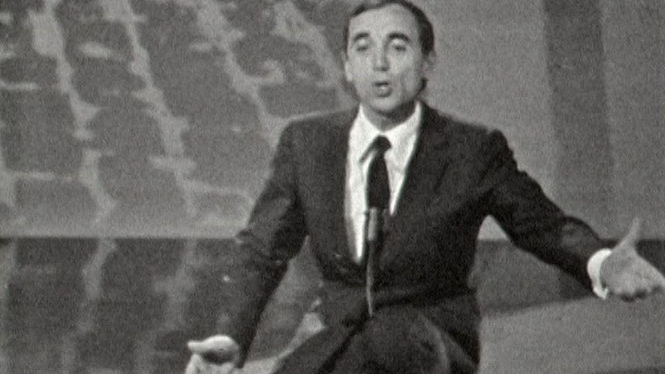 Charles Aznavour en 1961. [RTS]