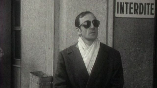 Charles Aznavour de passage à Genève en 1963. [RTS]