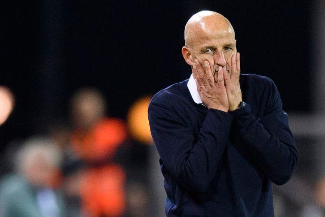 L'entraineur du FC Sion Peter Zeidler a été mis au repos pendant un mois par le président du club. Laurent Gillieron Keystone [Laurent Gillieron - Keystone]