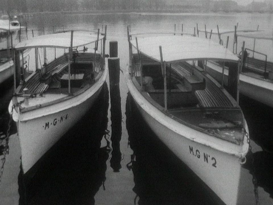 Les Mouettes genevoises en 1962. [RTS]