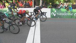 3e étape, Payerne – Payerne: Elia Viviani (ITA) s'impose d'une roue [RTS]