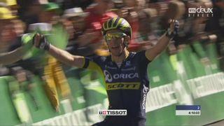 4e étape, Domdidier - Leysin, 163,5 km: Simon Yates (GBR) s'impose dans cette étape de montagne ! [RTS]