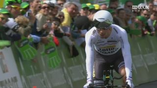 Tour de Romandie 5e étape: Primoz Roglic (SLO) remporte le contre la montre [RTS]