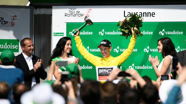 Richie Porte remporte la 71e édition du Tour de Romandie [Alain Grosclaude - Keystone]