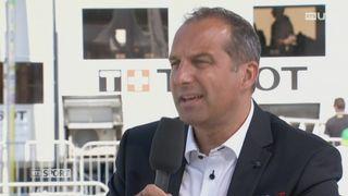 Cyclisme- TdR: interview du directeur général de la course Richard Chassot [RTS]