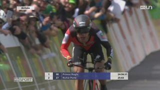 Cyclisme: l'Australien Richie Porte remporte le Tour de Romandie au terme du contre-la-montre de Lausanne [RTS]