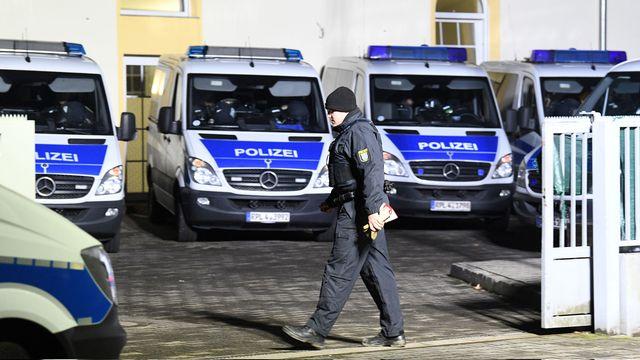 Le ressortissant suisse avait été arrêté par la police de Francfort. [Boris Rössler - DPA/AFP]