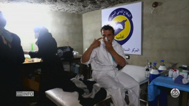 Syrie - Attaque chimique: Human Rights Watch accuse le gouvernement de Bachar al-Assad [RTS]