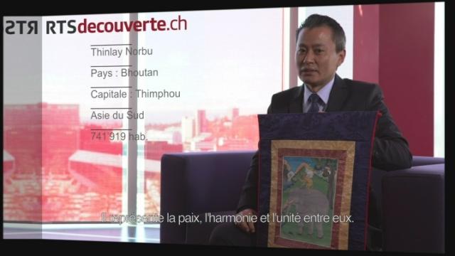 Thinlay Norbu - Délégué du Bhoutan [RTS]
