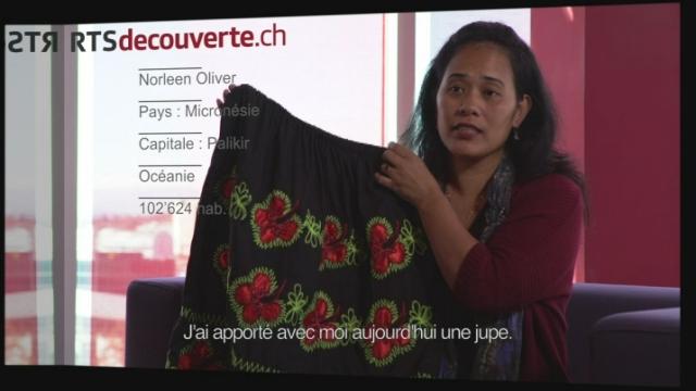 Norleen Oliver - Déléguée de Micronésie [RTS]