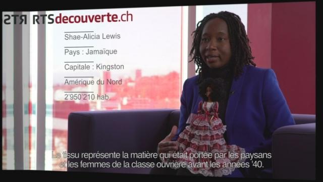 Shae-Alicia Lewis - Déléguée de la Jamaïque [RTS]