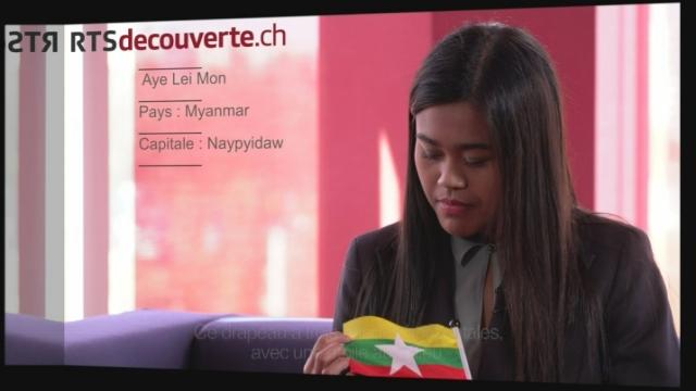 Aye Lei Mon - Déléguée du Myanmar [RTS]