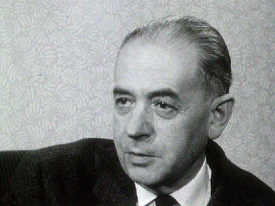 Marcel Raymond évoque l'oeuvre de Ramuz, 1964. [RTS]