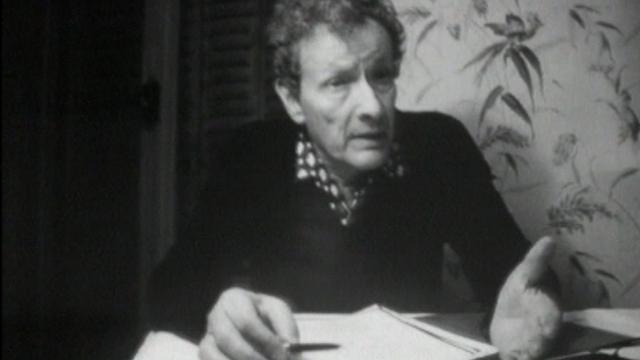 Jean-Louis Barrault évoque la mort de Ramuz. [RTS]