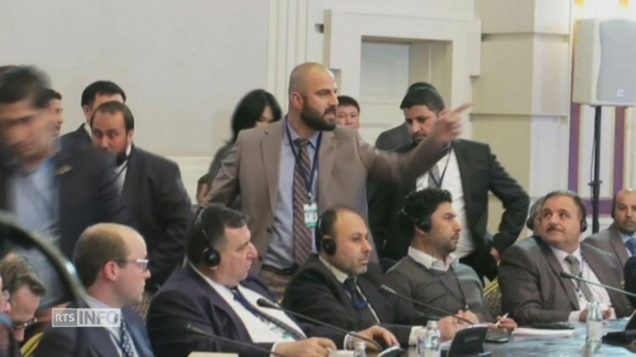 Un accord signé pour le conflit syrien [RTS]