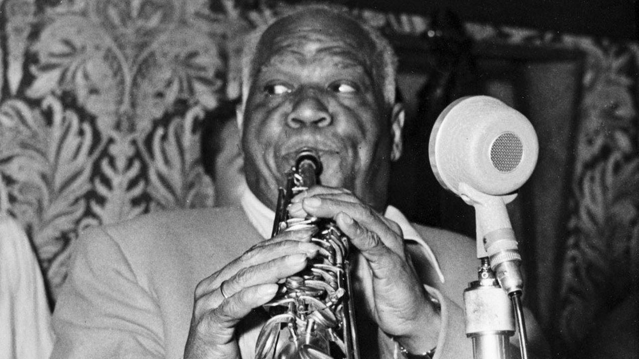 Le clarinettiste Sidney Bechet. [Keystone]