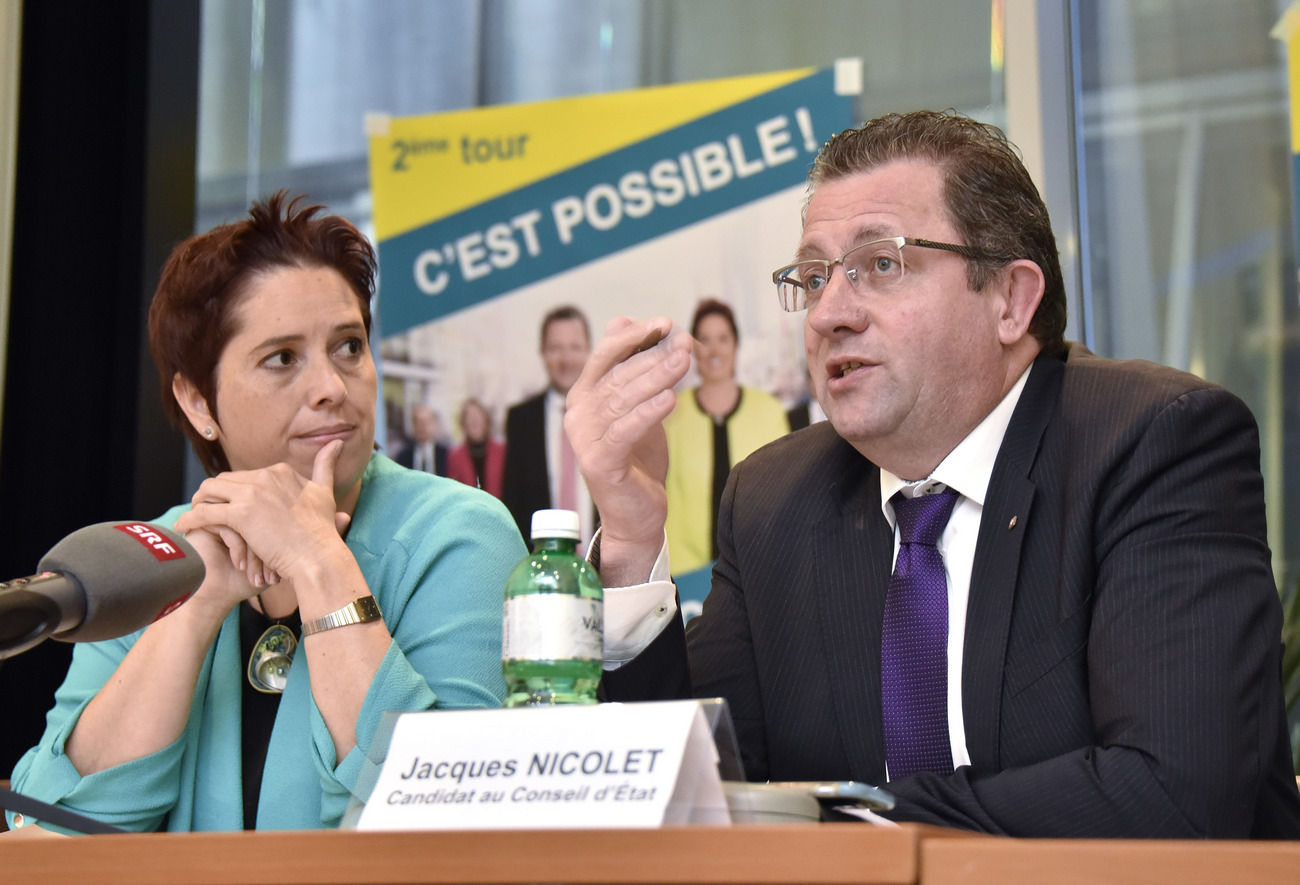 Isabelle Chevalley et Jacques Nicolet.