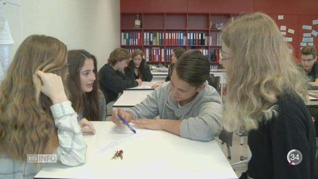 L'état de santé physique et mentale des enfants suisses est étudié [RTS]