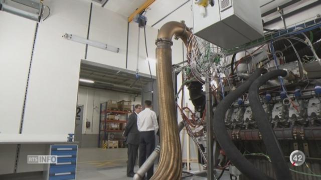 FR: la chaleur produite par une usine est récupérée pour chauffer des ménages [RTS]