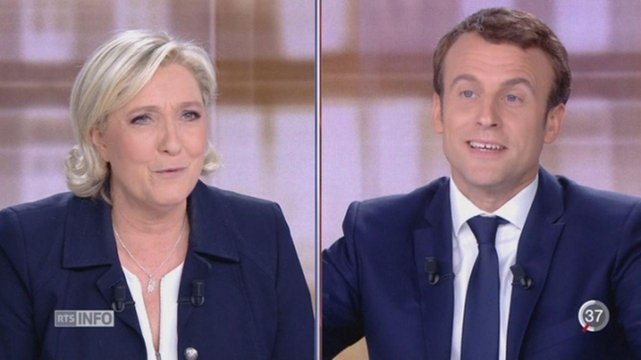 Emmanuel Macron piraté: des documents internes publiés [RTS]